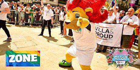 Villa & Proud at Birmingham Pride 2021 tickets