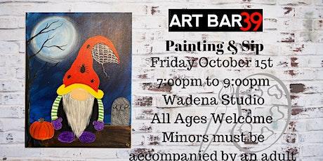 Halloween Gnome| ART BAR 39 | Public Event|Wadena tickets