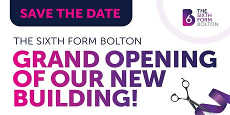 The Sixth Form Bolton | OPEN EVENT | Saturday 9 October 2021 #B6Ready tickets