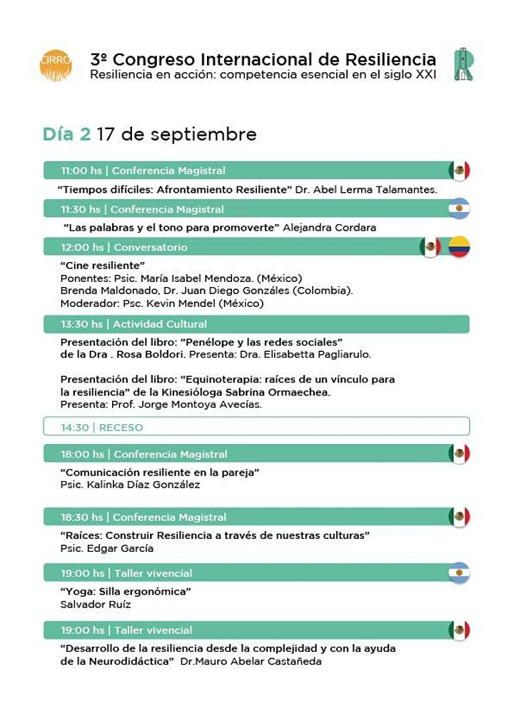 Imagen de 3° Congreso Internacional de Resiliencia Rosario 2021