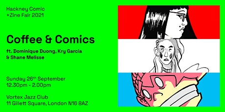 HCZF: Coffee and Comics tickets