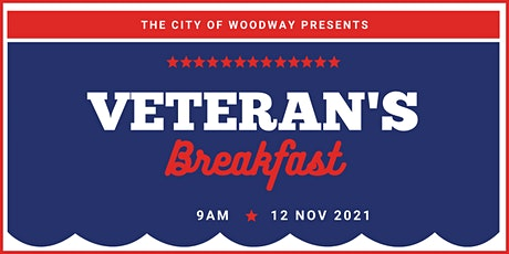 Veteran's Breakfast tickets