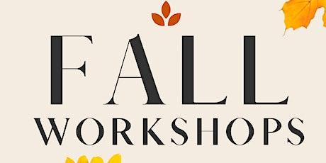 Petals Floral Design Rustic Pumpkin Workshop tickets