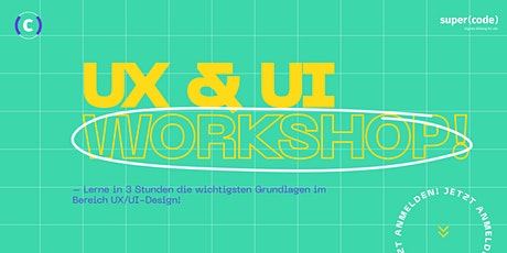 UX & UI-Design Workshop - für Anfänger*innen Tickets