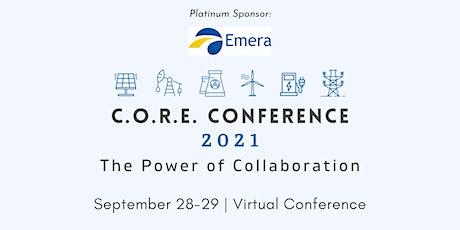 2021 C.O.R.E. Conference: The Power of Collaboration biglietti
