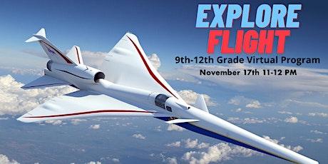 Homeschool Virtual 9-12th Grade Program: Explore Flight tickets