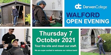 Derwen at Walford Open Evening - Thursday 7th October 2021 tickets