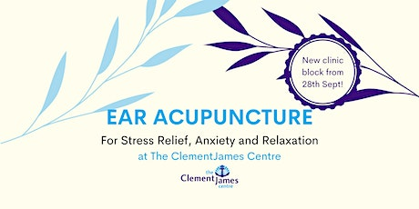 Ear Acupuncture at The ClementJames Wellbeing Clinic tickets