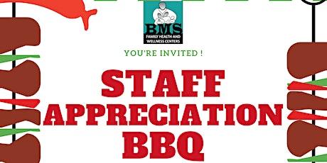 BMS Employee Appreciation BBQ tickets