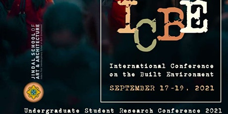 International Conference on the Built Environment (ICBE 2021) tickets