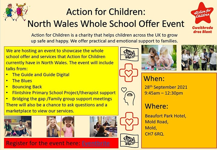 Action for Children North Wales Whole School Event image