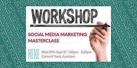 Social Media Marketing Masterclass | Hexe Digital tickets