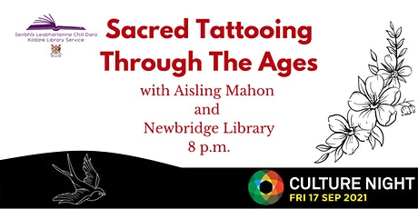 Culture Night: Tattoo Culture with Aisling Mahon Tattoo & Newbridge Library tickets