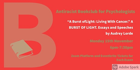 November Antiracist Bookclub for Psychologists Zoom Meeting. Audrey Lorde. tickets