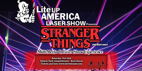 Stranger Things Multi Media & Laser Show - Reserved Seating tickets