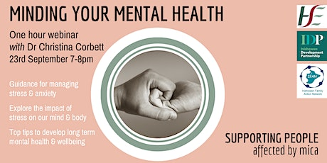 Minding Your Mental Health tickets