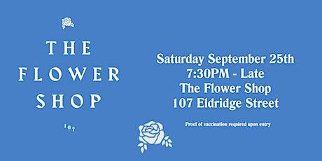 CBS Bar Night x Flower Shop tickets