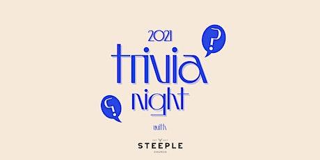 Steeple Trivia Night 2021 - Lockdown Edition 2.0 tickets