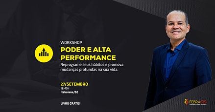 Workshop - Poder e Alta Performance [Itabaiana/SE] ingressos