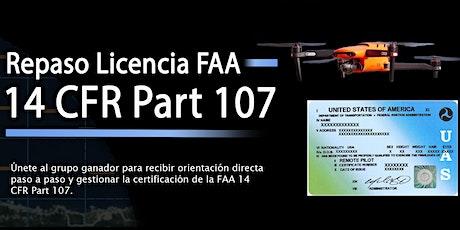 Repaso Licencia FAA 14 Code of Federal Regulations Part 107 (Octubre) entradas