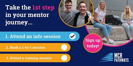 Become a Volunteer Mentor -  Info Session tickets