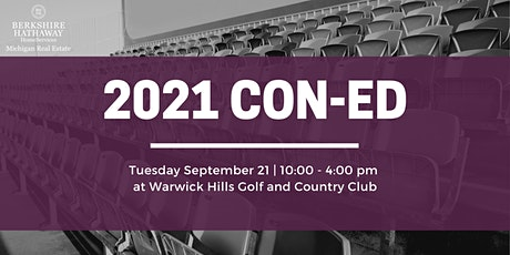 2021 CON-ED tickets