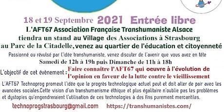 L'AFT67 sera au Village des Associations (Parc de la Citadelle) billets