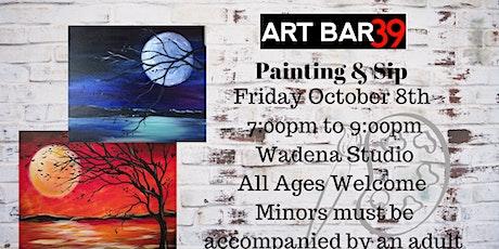 Blue Moon or Autumn Moon| ART BAR 39 | Public Event|Wadena tickets