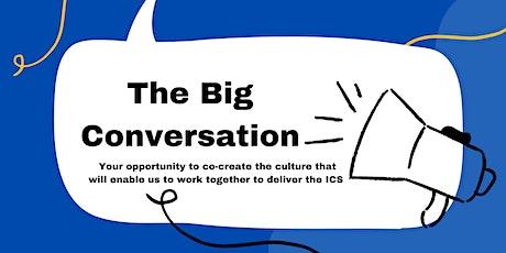 The Big Conversation event tickets
