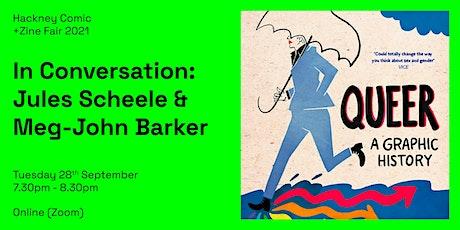 HCZF: In Conversation — Jules Scheele & Meg-John Barker tickets