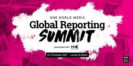 OWM Global Reporting Summit 2021 tickets