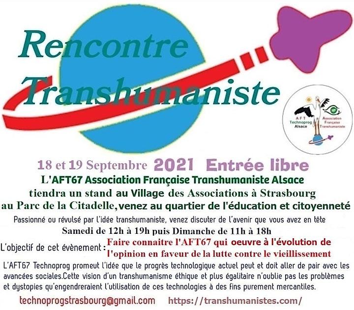 Image pour L'AFT67 sera au Village des Associations (Parc de la Citadelle)