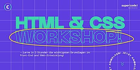 HTML & CSS Workshop - für Anfänger*innen Tickets