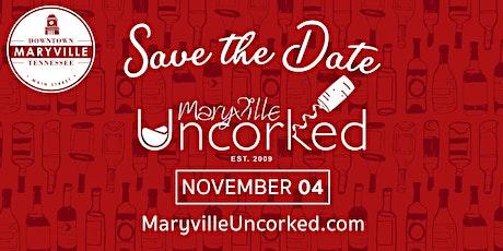 Maryville Uncorked tickets