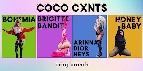 Coco Cxnts Drag Brunch tickets