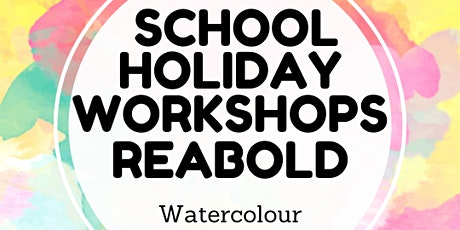 School Holiday Workshop Watercolour tickets