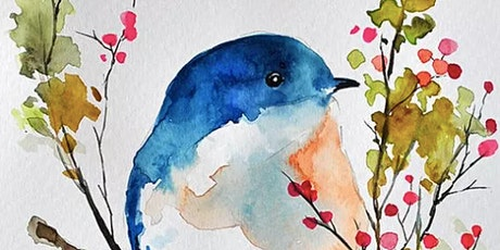 Learn to Paint Birds with Watercolors Workshop tickets