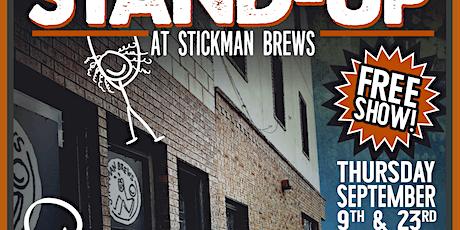 Stand Up at Stickman Brews tickets