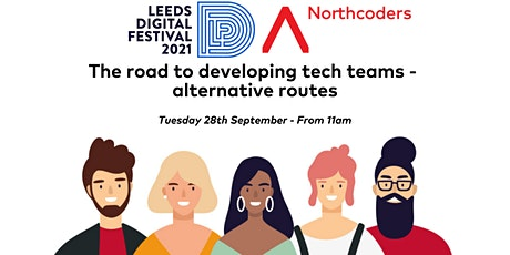 The Road to Developing Tech Teams - Alternative Routes tickets