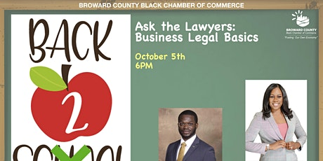 Back to Business Fall Series:  Ask the Lawyers  Business Legal Basics tickets