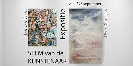 Stem van de kunstenaar - Expositie Jan van Genk & Dyon Scheijen tickets