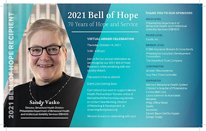 2021 Bell of Hope Virtual Award Celebration image
