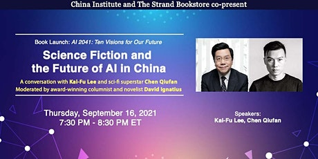 Science Fiction and the Future of AI in China tickets