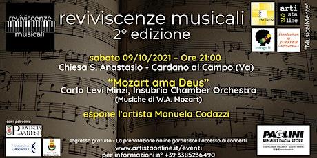 """Mozart ama Deus"" biglietti"