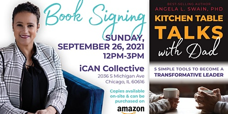 Book Signing: Kitchen Table Talks With Dad tickets