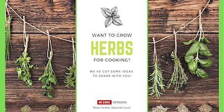 Saturday Seminar: Growing and Preserving Culinary Herbs tickets