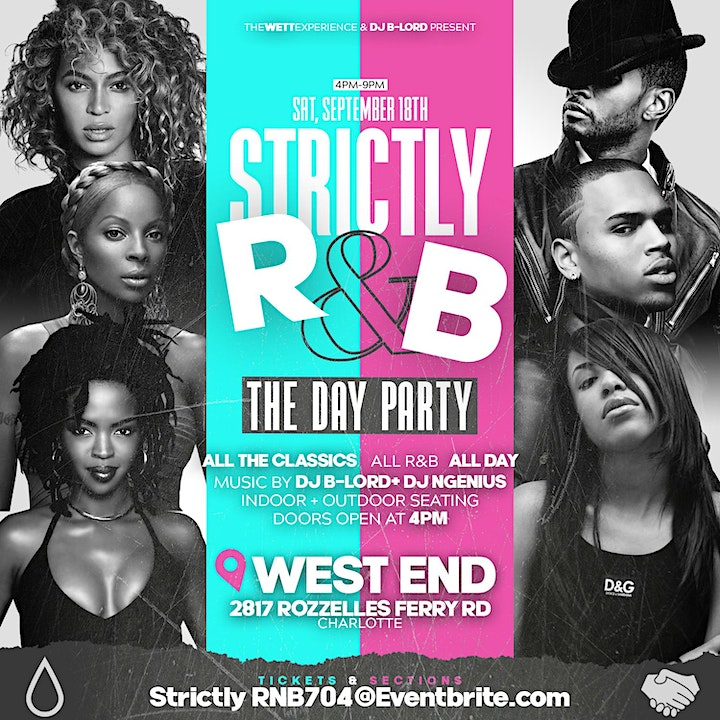 STRICTLY R&B! The DAY Party!(Charlotte!) image