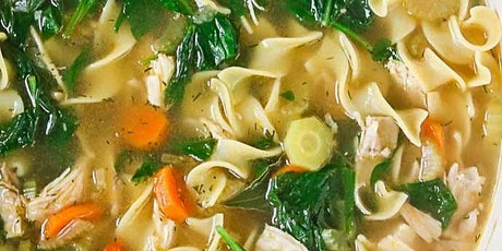 UBS - Virtual Cooking Class: Chicken Noodle Soup tickets