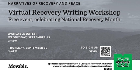 Recovery Writing Workshop tickets