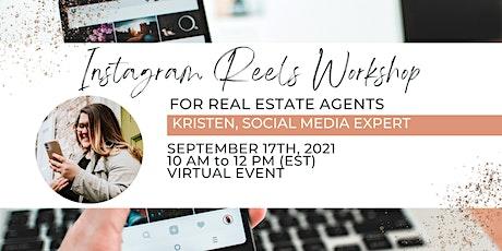 Instagram Reels Workshop: For Real Estate Agents tickets